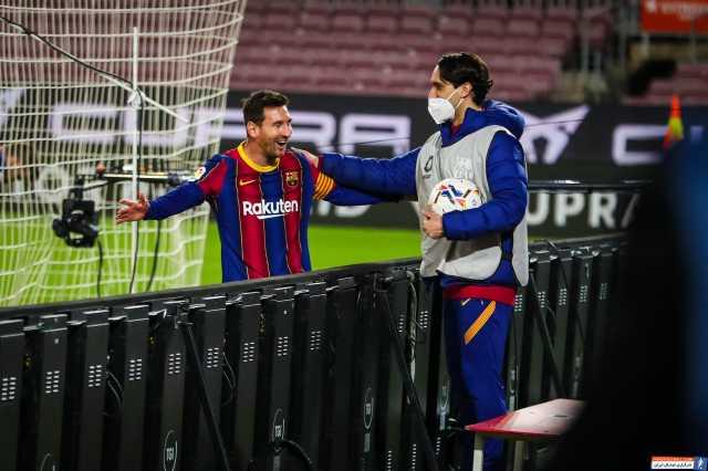 بارسلونا ۵-۲ ختافه؛ هنرنمایی لیونل مسی و دوستان سوپرلیگی اش!