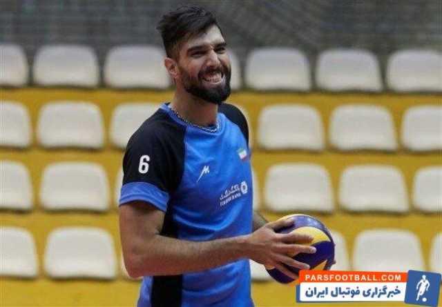 سید محمد موسوی به اردوی تیم ملی والیبال پیوست
