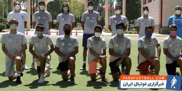 اعضای تیم ملی تنیس آقایان تست آمادگی جسمانی دادند