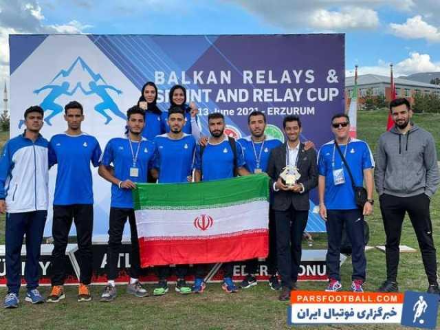 عملکرد درخشان تیم اعزامی ایرانی در رقابتهای بینالمللی دو و میدانی ترکیه