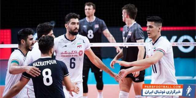 بروزرسانی  لیگ ملتهای والیبال  ایران ست اول را از آلمان برد