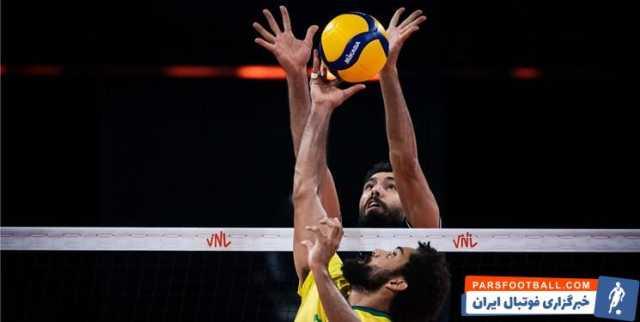 لیگ ملتهای والیبال| برزیل از سد ایران گذشت/ تداوم یکهتازی طلاییپوشان