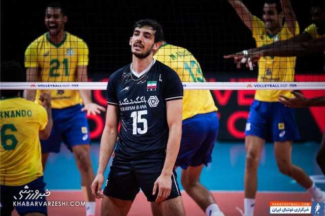 تیم ملی ایران برابر برزیل شکست خورد