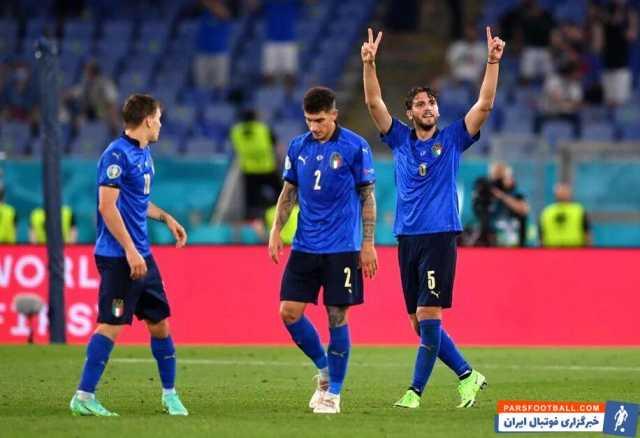 «لوکاتلی»، بهترین بازیکن دیدار ایتالیا و سوئیس