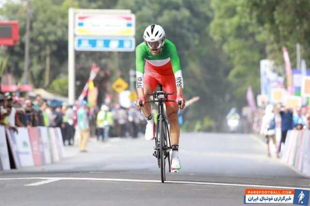دوچرخهسوار المپیکی ایران مشخص شد