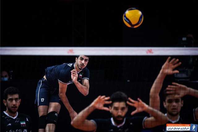 صالحی امتیارآورترین بازیکن ایران در بازی با برزیل شد