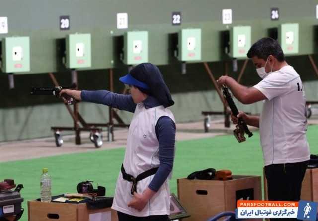 المپیک توکیو | صعود تیم میکس تپانچه بادی ۱۰ متر ایران به مرحله نیمه نهایی