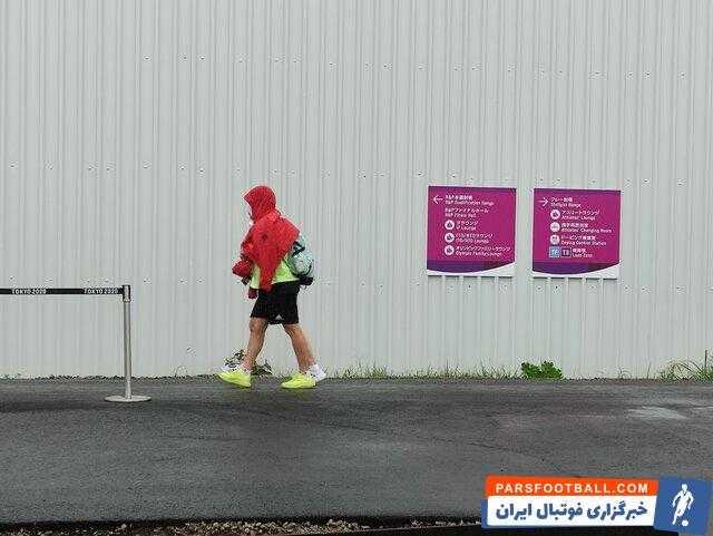 بارش شدید باران در چهارمین روز بازی های المپیک توکیو + عکس