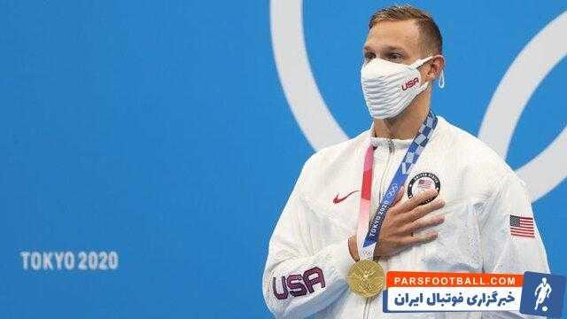 ۵ طلا برای پادشاه شنا در المپیک