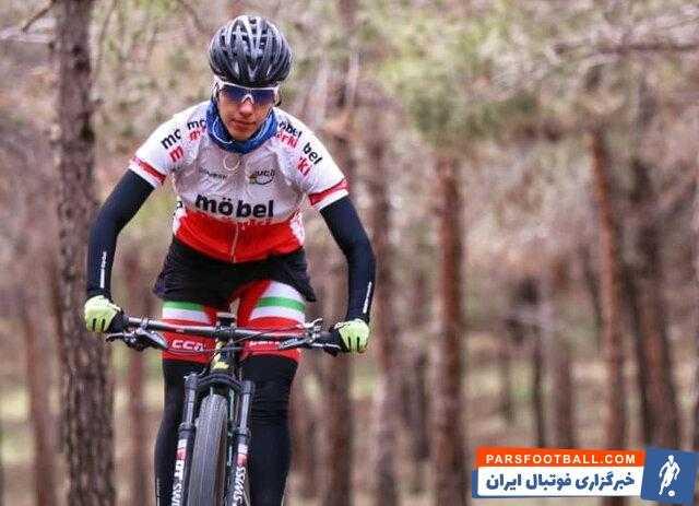 دختر رکابزن ایران به تنهایی برای بازیهای آسیایی آماده میشود