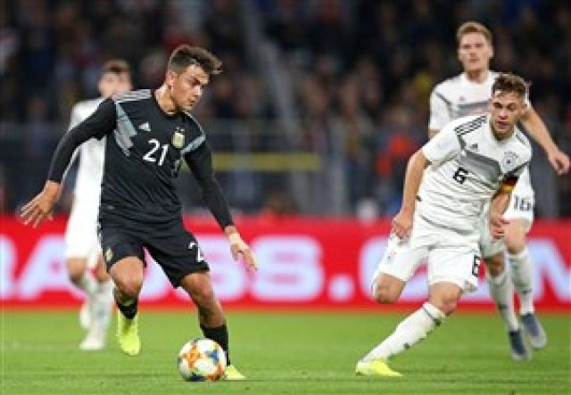 آلمان 2-2 آرژانتین: تساوی در غیاب ستاره ها