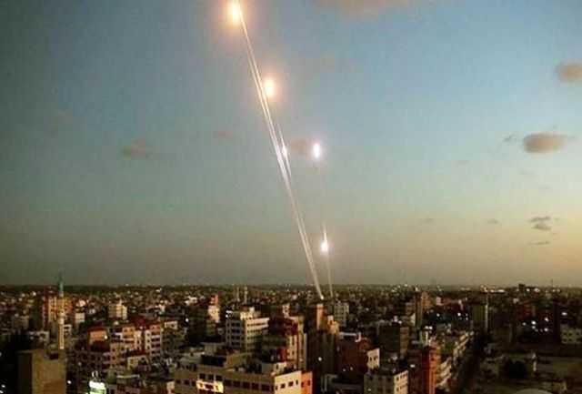 ضربه سنگین مقاومت به رژیم صهیونیستی/ شلیک 350 موشک در 20 دقیقه به تل آویو
