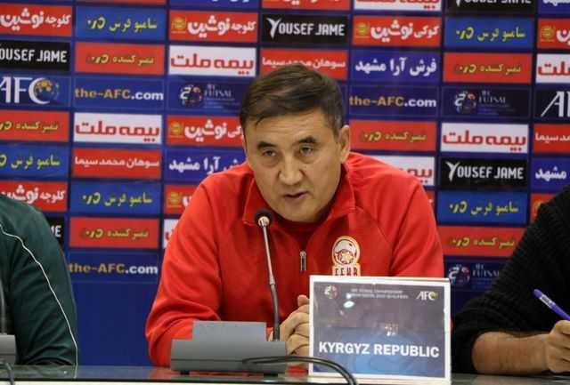 تیم ملی فوتسال جمهوری قرقیز جوان شده است