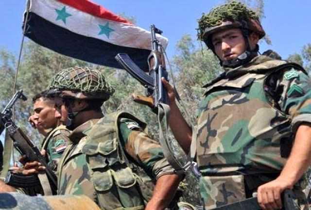 تصرف مقر عناصر وابسته به آمریکا به دست نیروهای سوری+جزییات