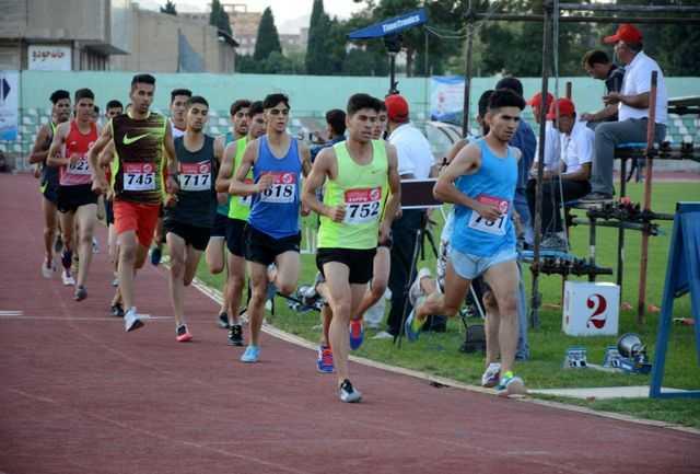 نتایج روز اول مسابقات دوومیدانی جوانان کشور (پسران) مشخص شدند
