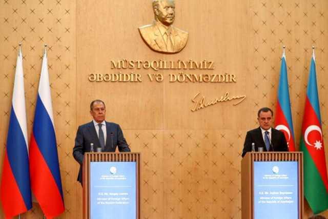 تاکید لاوروف بر حل دیپلماتیک تنش مرزی آذربایجان و ارمنستان