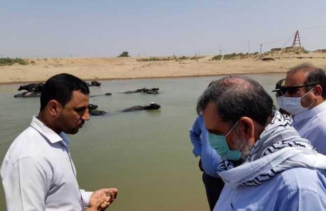 گزارش محسن رضایی از بازدید میدانی خوزستان