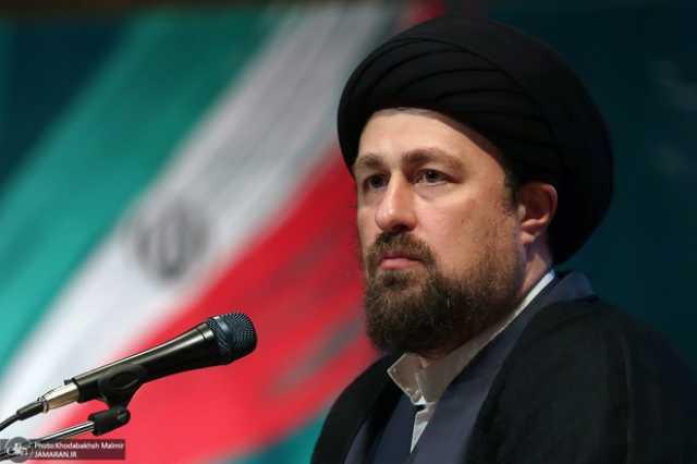 هشدار سید حسن خمینی: مردم نباشند، نتیجه ای نمی گیرید/ مردم تصمیم گیر هستند