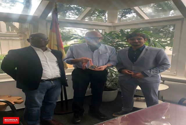 دیدار مدیر عامل باشگاه مونستر با معاون وزیر سنگال در آلمان