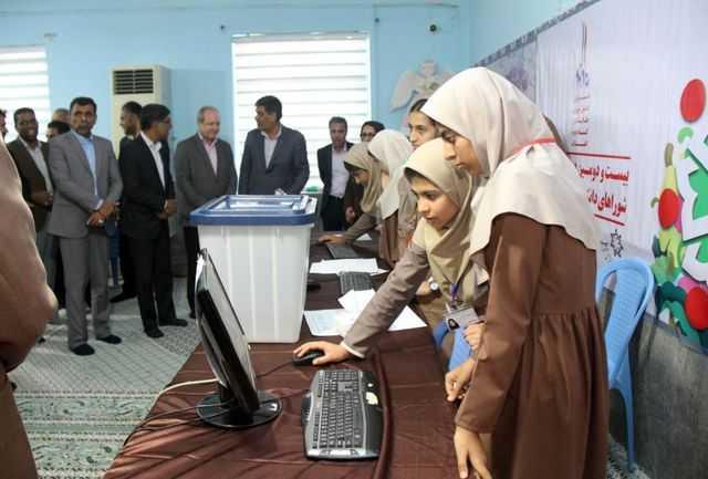 انتخاب شورای دانش اموزی در سه هزار مدرسه استان