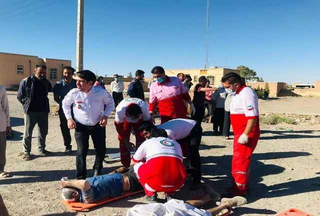 جدیدترین جزئیات از تصادف هولناک در یزد/افزایش شمار کشتهها و مجروحان+عکس