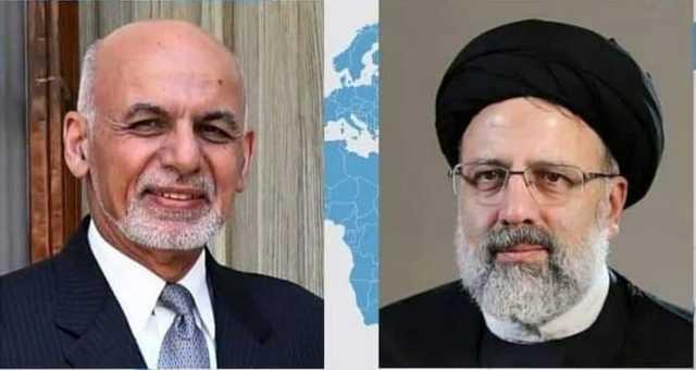 گفتگوی تلفنی رئیس جمهور افغانستان با رئیسی