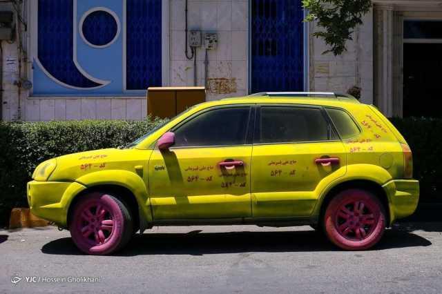 تبلیغات خیابانی انتخابات ۱۴۰۰ عجیب در قزوین +عکس