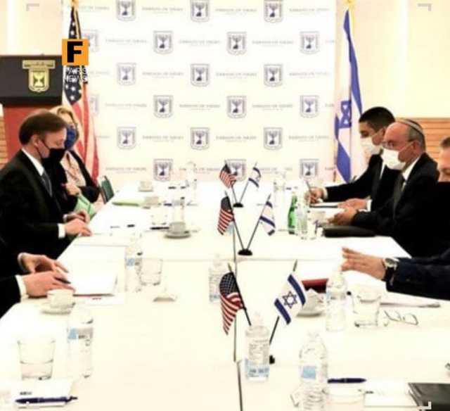 دیدار مشاوران امنیتی صهیونیستها با مقامهای آمریکایی