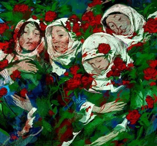 اثر دیدنی حسن روح الامین از حادثه تروریستی افغانستان