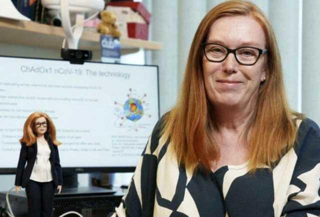 عروسک باربی جدید: زن مخترع واکسن کرونا +عکس