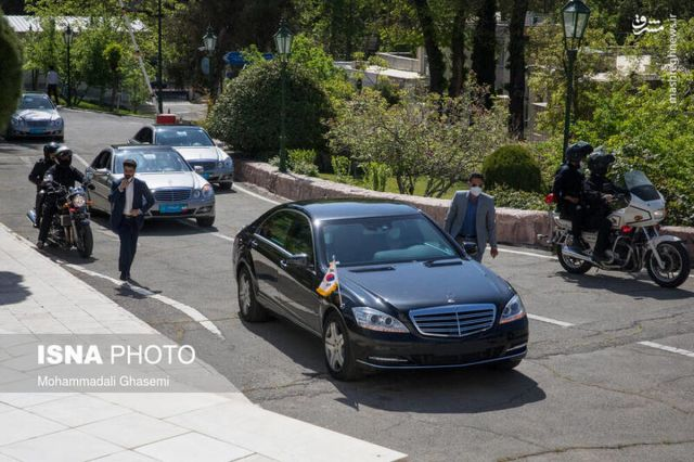 خودرو نخست وزیر کره جنوبی در تهران چه بود؟+عکس