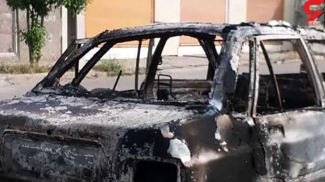 قتل 2 نخبه چرامی با تیراندازی های مرگبار + عکس و فیلم محل حادثه