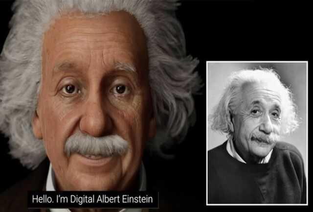 آلبرت اینشتین زنده شد!