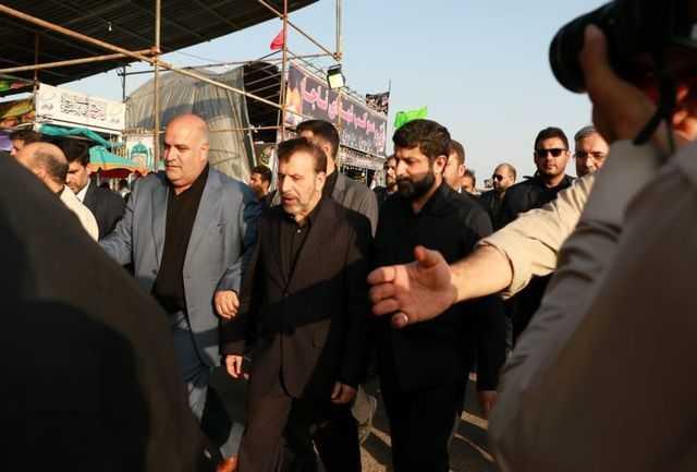 رئیس دفتر رئیسجمهور وارد پایانه مرزی چذابه شد