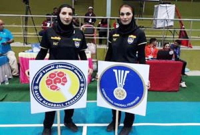 قضاوت کوبل داوری قزوین در رقابت های قهرمانی آسیا