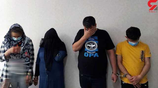 دوئل خونین گردانندگان 2 خانه فساد بخاطر مریم و سمیه / در جنوب تهران رخ داد + عکس ها