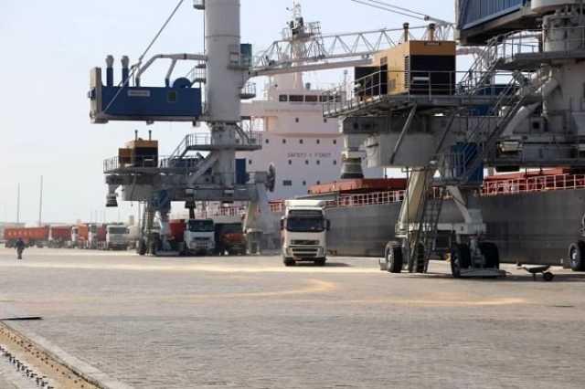 ورود نهمین کشتی گندم ترانزیتی هند به افغانستان به بندر چابهار